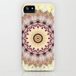 Summer Yellow and dusk Mandala iPhone Case