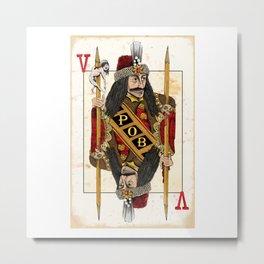 Vlad Impaler Metal Print
