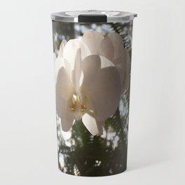 Sunlit Orchid Travel Mug