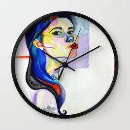 My Lipgloss Be Poppin' Wall Clock