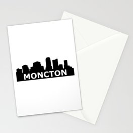 Moncton Skyline Stationery Cards