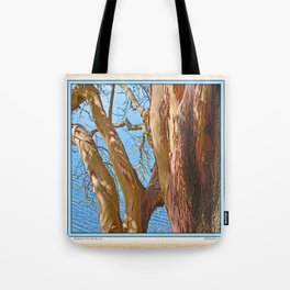 MADRONA TREE BY THE SEA Tote Bag