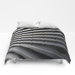 Curved Lines Comforters