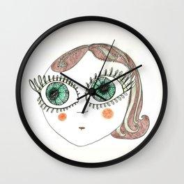 I am Delfina! Wall Clock