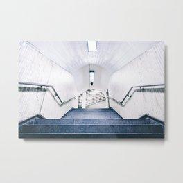 Montreal Subway | Métro de Montréal Metal Print