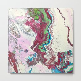 Fluid No. 07 Metal Print