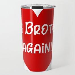 Birth Announcement Big Brother Travel Mug