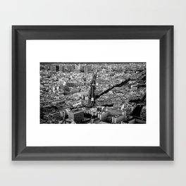 Go with the flow! Framed Art Print