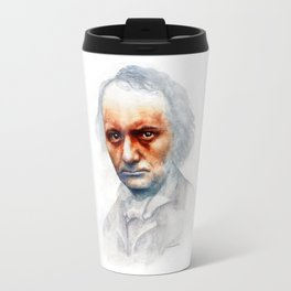 Charles Baudelaire Travel Mug