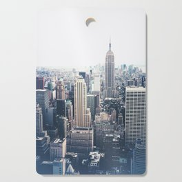 New York City and the Empire State Building Cutting Board