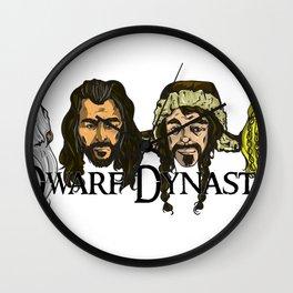 Dwarf Dynasty Wall Clock