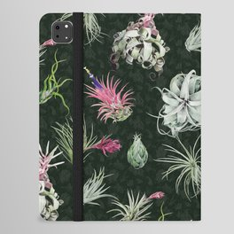 Tillandsia green iPad Folio Case