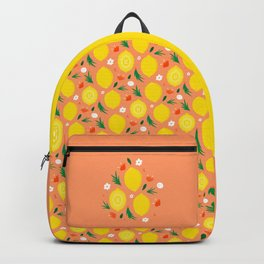 CUTE LEMON FIELDS - ORANGE Backpack