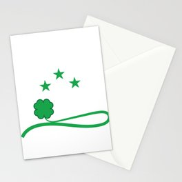 """T-shirt Design Get this cool St.Patrick's Day Souvenir Featuring The Text """"Let's Get Sham Rocked"""" Stationery Cards"""