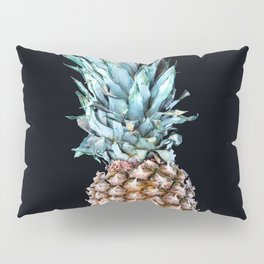 Pineapple On A Black Background #decor #society6 Pillow Sham