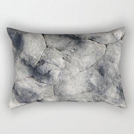 Stone Face Rectangular Pillow