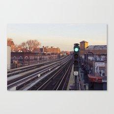 Take The 'A' Train Canvas Print