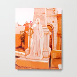 Mother of La Recoleta. Metal Print
