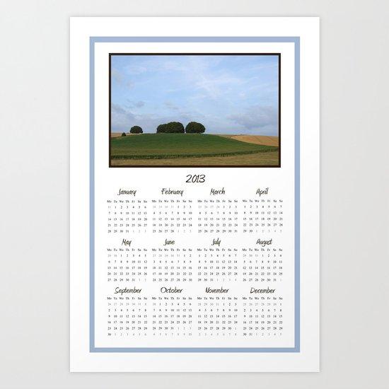 2013 Landscape Calendar Art Print