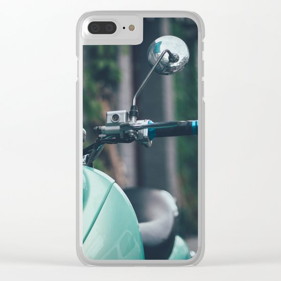 Lovely bike Clear iPhone Case