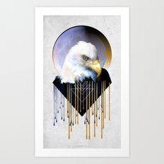 Wise Eagle Art Print