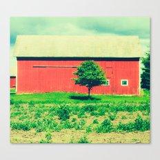Nicholson barn (2)  Canvas Print