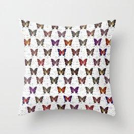 Butterflies Variation 01 Throw Pillow