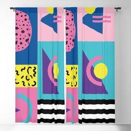 Memphis pattern 53 - 80s / 90s Retro Blackout Curtain