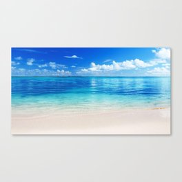 Whitecap Horizon - Tropical Horizon Series Canvas Print