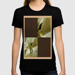 Pale Yellow Poinsettia 1 Blank Q3F0 T-shirt