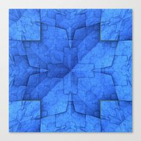 origami Canvas Prints featuring Origami by Lyle Hatch