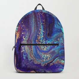Iridescent Fantasy Abstract Backpack
