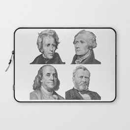 Four Presidents Square Laptop Sleeve