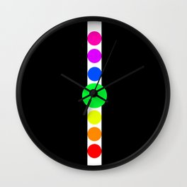 the cycles of life Wall Clock