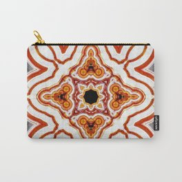 India Print Carry-All Pouch