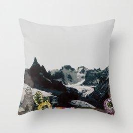 Chalten antiguo Throw Pillow