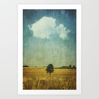 alone Art Prints featuring aLone by Dirk Wuestenhagen Imagery
