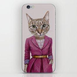cat Mrs iPhone Skin