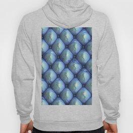 Silky reflection, blue Hoody