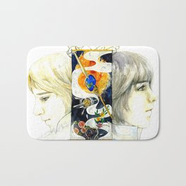 Brothers of the Magical Sapphire Bath Mat