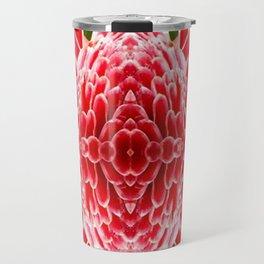 FloralBisection Travel Mug