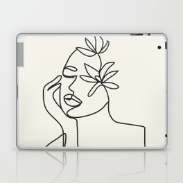 Abstract Minimal Woman I Laptop & iPad Skin