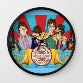 Sgt. Peppers Lonely Hearts Club Band Wall Clock
