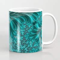 underwater Mugs featuring Underwater by Steve Purnell