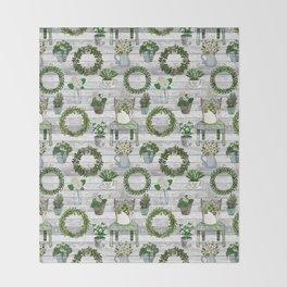 Farmhouse Botanicals Throw Blanket