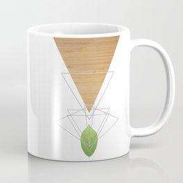 Geometric Leaf Coffee Mug