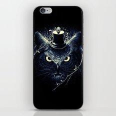 Meowl (Blue) iPhone Skin