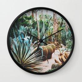 The Flora Of The Majorelle Garden Wall Clock