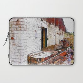 And the Walls Came Tumbling Down Laptop Sleeve