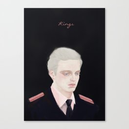 sebastian stan fanart - kings Canvas Print